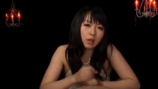 羽月希淫語手コキ